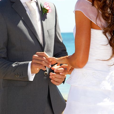 Beach Weddings at Dolphin Beach Resort in St. Pete Beach