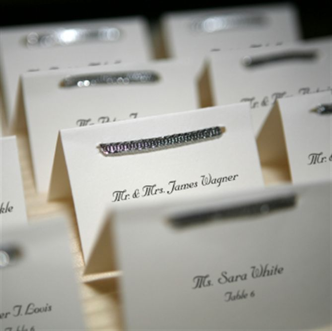 How To Write Out Place Cards For A Wedding